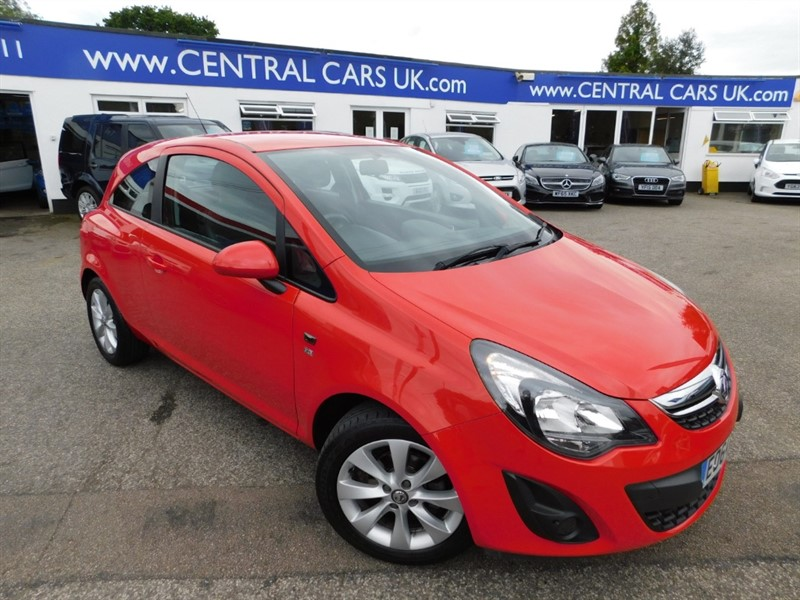 used Vauxhall Corsa EXCITE AC in leigh