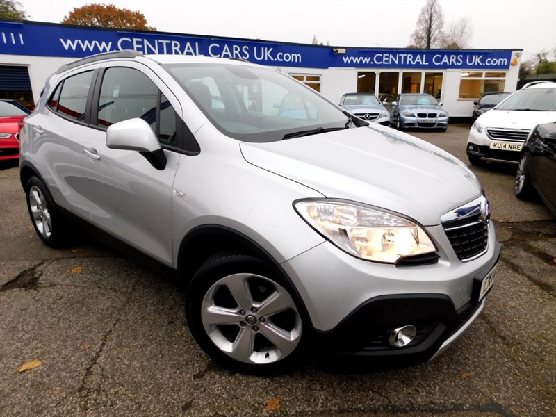 used Vauxhall Mokka TECH LINE CDTI S/S in leigh