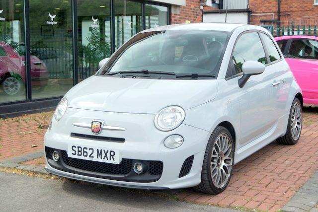 used Abarth 500 3dr HATCHBACK in ashley-cheshire