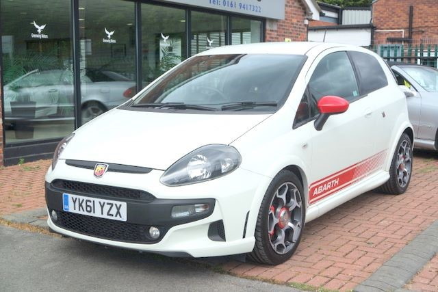 used Abarth Punto Evo 1.4 M/AIR TURBO 3DR HATCHBACK in ashley-cheshire