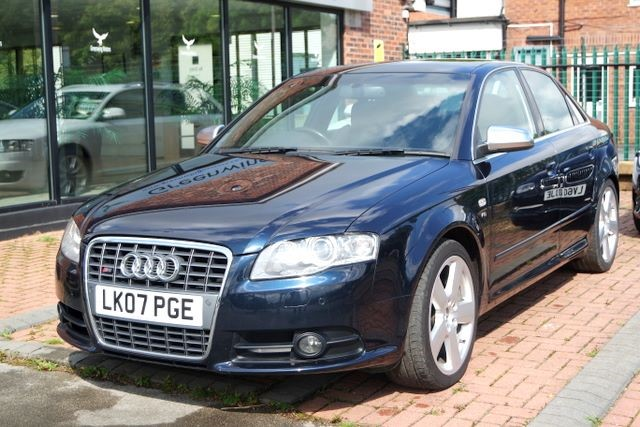 used Audi A4 S4 QUATTRO V8 SALOON in ashley-cheshire