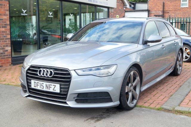 used Audi A6 Avant TDI ULTRA S LINE BLACK EDITION in ashley-cheshire