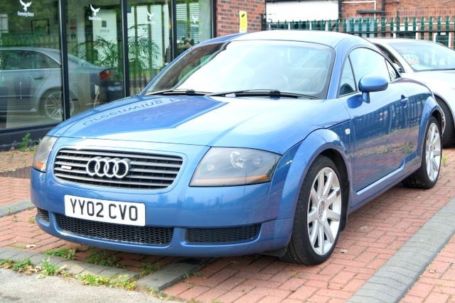 used Audi TT QUATTRO COUPE - LEATHER in ashley-cheshire