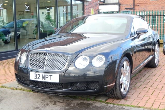 used Bentley Continental GT MULLINER DRIVING SPEC in ashley-cheshire