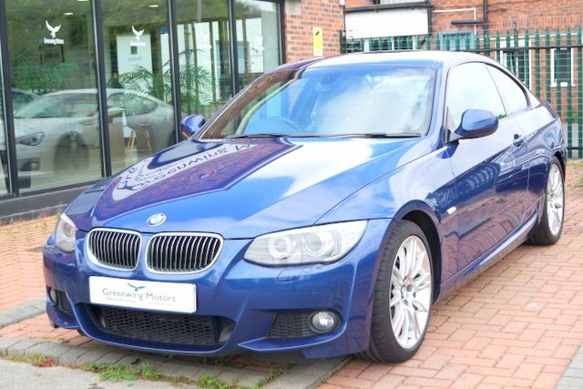 used BMW 330i M SPORT COUPE - LOW MILES in ashley-cheshire