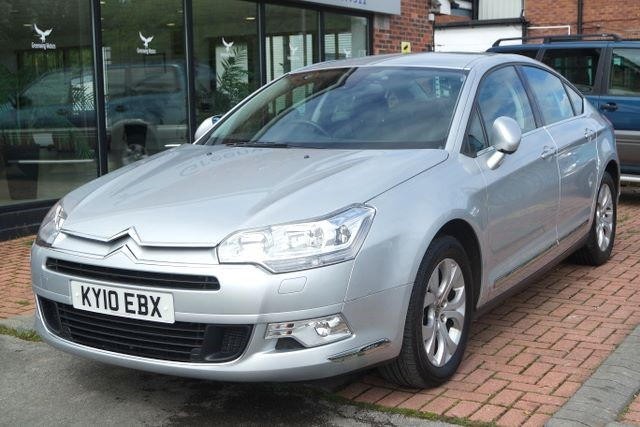 used Citroen C5 EXCLUSIVE HDI 4dr SALOON in ashley-cheshire