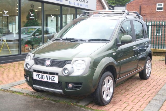 used Fiat Panda 16V MULTIJET CROSS 4WD HATCHBACK in ashley-cheshire