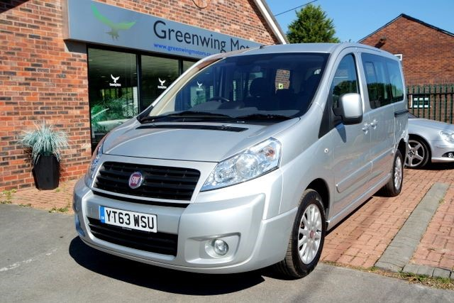 used Fiat Scudo PANORAMA FAMILY M/JET 8 SEATER in ashley-cheshire