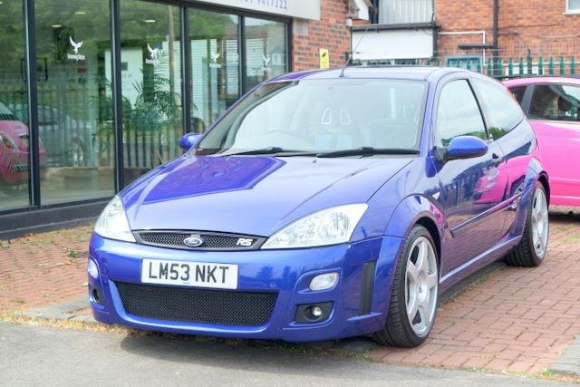 used Ford Focus RS 3dr HATCHBACK- TOTAL ORIGINAL in ashley-cheshire