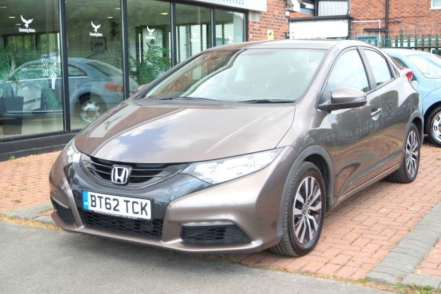 used Honda Civic I-DTEC SE 5dr HATCHBACK -£0 ROAD TAX in ashley-cheshire