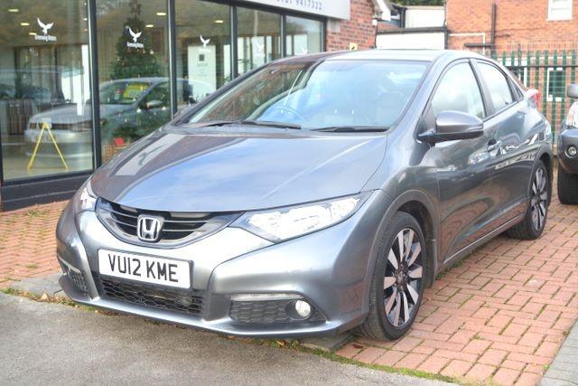 used Honda Civic I-VTEC EX 5DR HATCHBACK AUTO in ashley-cheshire