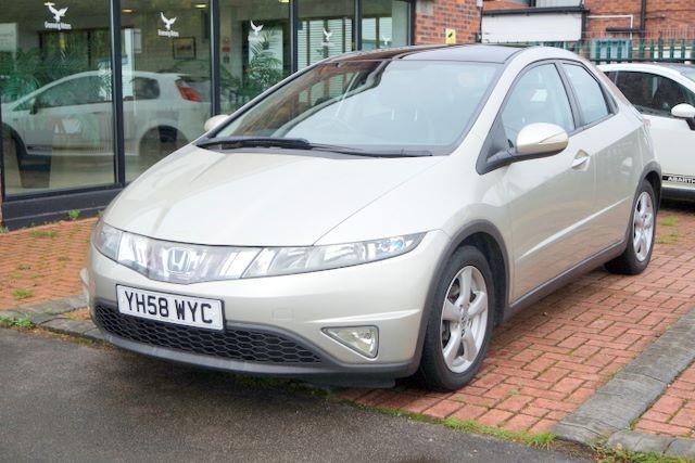 used Honda Civic ES I-VTEC 5dr HATCHBACK - HIGH SPEC in ashley-cheshire