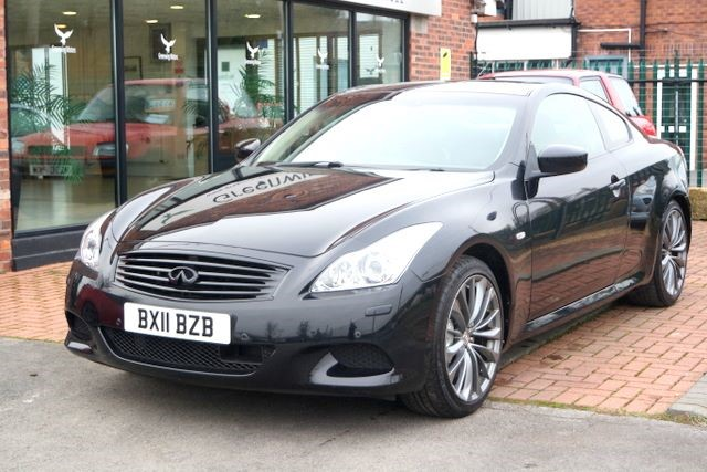 used Infiniti G37 V6 SPORT COUPE - LOW MILES in ashley-cheshire