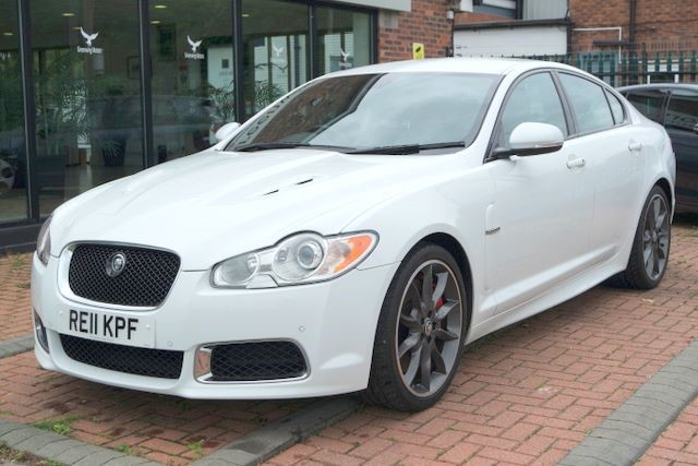 used Jaguar XF V8 XFR SUPERCHARGED SALOON in ashley-cheshire