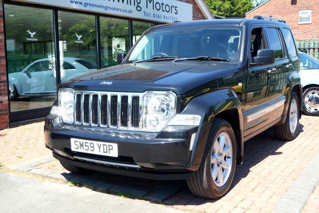 used Jeep Cherokee LIMITED 2.8 CRD 4WD in ashley-cheshire
