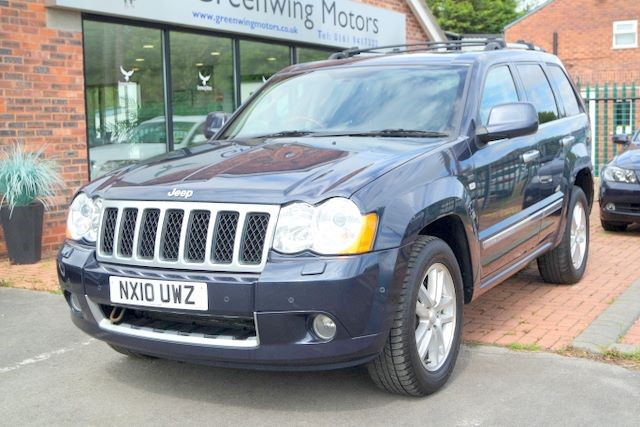 used Jeep Grand Cherokee V6 CRD OVERLAND TECH in ashley-cheshire