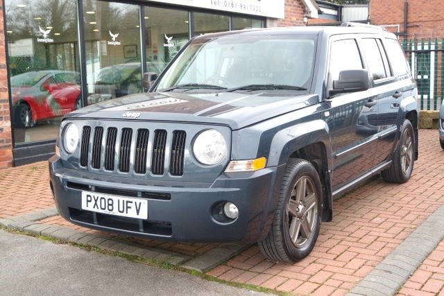 used Jeep Patriot LIMITED CRD SWITCHABLE 4WD in ashley-cheshire