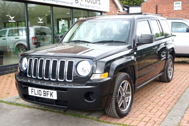 used Jeep Patriot SPORT CRD 4WD - LOW MILES in ashley-cheshire