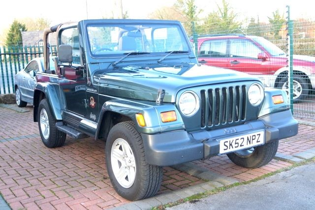 used Jeep Wrangler SAHARA 4.0 HARD TOP in ashley-cheshire