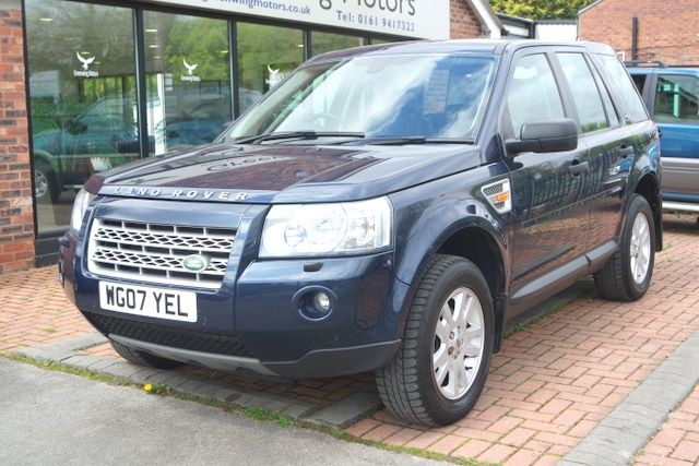used Land Rover Freelander TD4 SE 4WD in ashley-cheshire