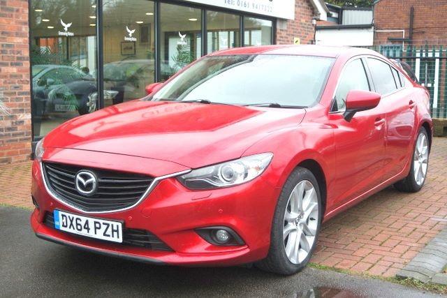 used Mazda Mazda6 SKYACTIVE D SPORT NAV SALOON in ashley-cheshire
