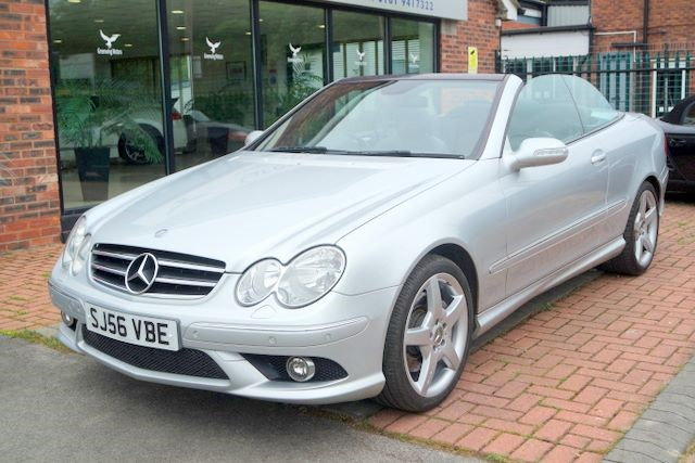 used Mercedes CLK200 CLK200 1.8 SPORT CONVERTIBLE in ashley-cheshire
