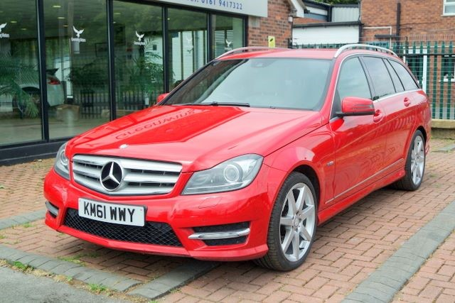 used Mercedes C350 CDI BLUEEFFICIENCY SPORT ESTATE in ashley-cheshire