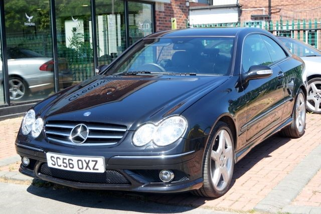 used Mercedes CLK320 CDI CLK320 SPORT 7-G COUPE  in ashley-cheshire