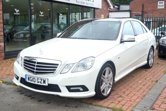 used Mercedes E350 CDI BLUEEFFICIENCY SPORT in ashley-cheshire