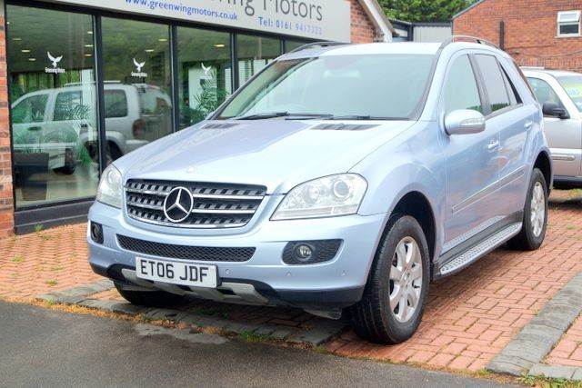 used Mercedes ML320 CDI SE 3.0 4WD- HIGH SPEC in ashley-cheshire