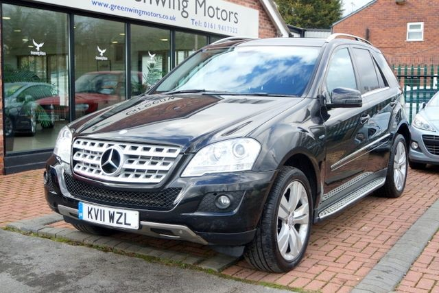 used Mercedes ML350 CDI BLUEEFFICIENCY SPORT in ashley-cheshire