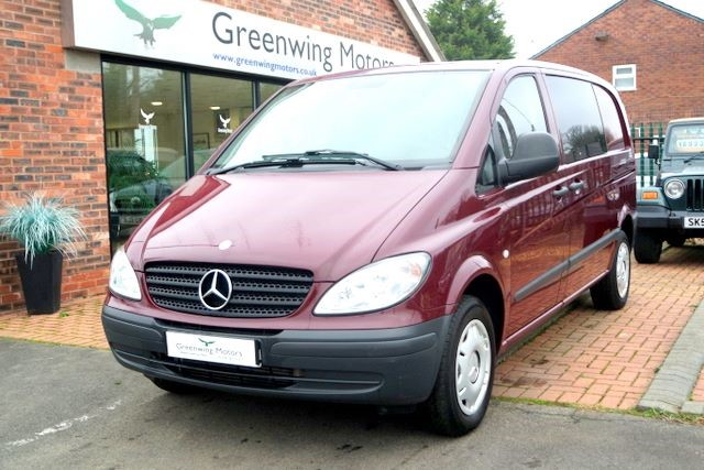 used Mercedes Vito COMPACT VAN - NO VAT in ashley-cheshire