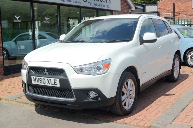 used Mitsubishi ASX DI-D 3 CLEARTEC HATCHBACK in ashley-cheshire