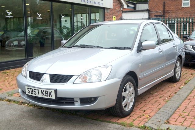 used Mitsubishi Lancer EQUIPPE 4dr SALOON - LOW MILES in ashley-cheshire