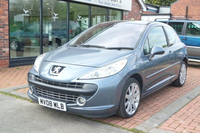 used Peugeot 207 GT 3DR HATCHBACK in ashley-cheshire