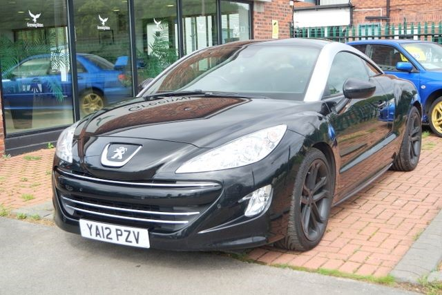 used Peugeot RCZ THP GT COUPE - HIGH SPEC in ashley-cheshire
