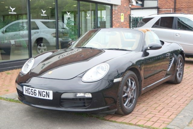 used Porsche Boxster 2.7 CONVERTIBLE in ashley-cheshire