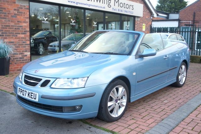 used Saab 9-3 VECTOR ANNIVERSARY CONVERTIBLE in ashley-cheshire