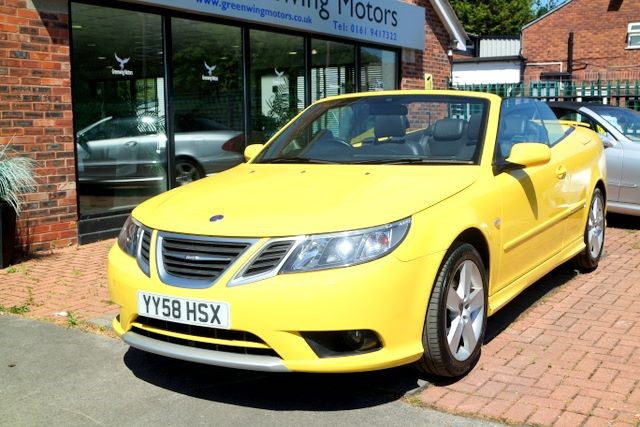used Saab 9-3 VECTOR SPORT TTID in ashley-cheshire