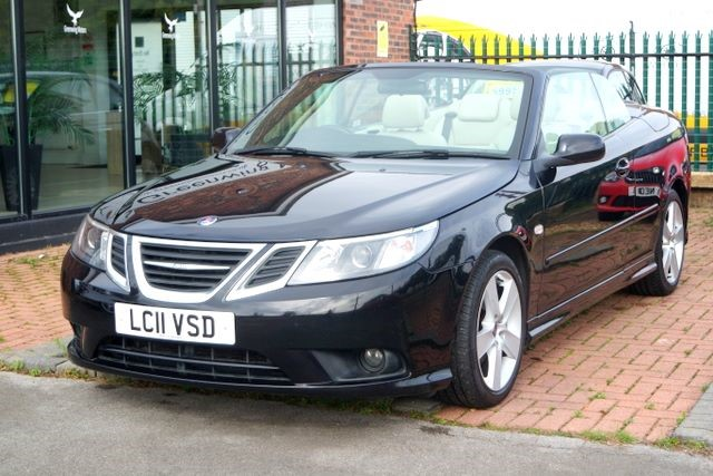 used Saab 9-3 LINEAR SE TURBO CONVERTIBLE in ashley-cheshire