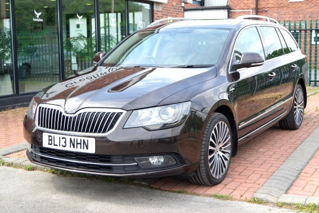 used Skoda Superb LAURIN AND KLEMENT TDI CR DSG in ashley-cheshire