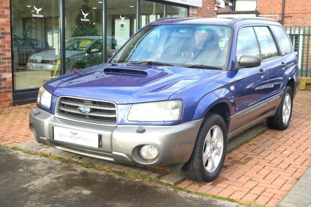 used Subaru Forester XT TURBO ESTATE - LEATHER in ashley-cheshire
