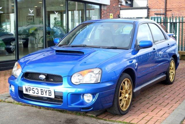 used Subaru Impreza WRX TURBO SALOON - LOW MILES in ashley-cheshire