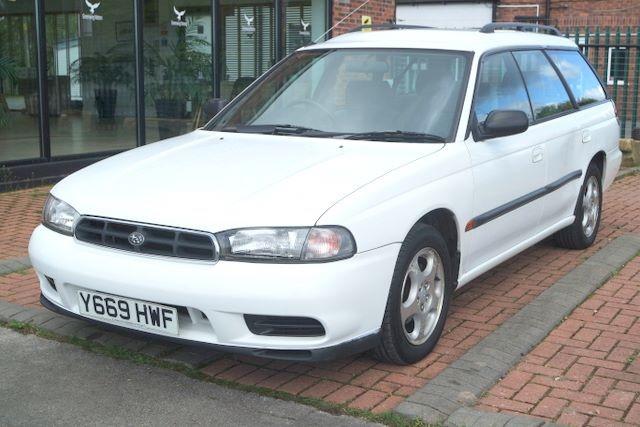 used Subaru Legacy GL CLASSIC AWD ESTATE - LOW MILES in ashley-cheshire