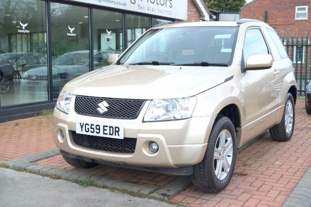 used Suzuki Grand Vitara VVT PLUS 4WD - LOW MILES in ashley-cheshire