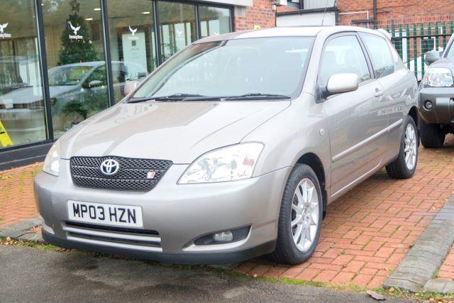 used Toyota Corolla T SPORT VVTL-I HATCHBACK in ashley-cheshire