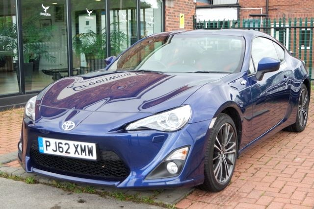 used Toyota GT86 D-4S COUPE - SAT NAV  in ashley-cheshire