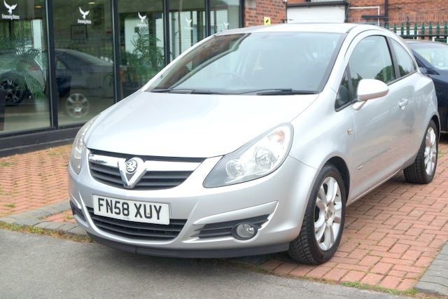used Vauxhall Corsa SXI A/C 1.2 3DR HATCHBACK in ashley-cheshire
