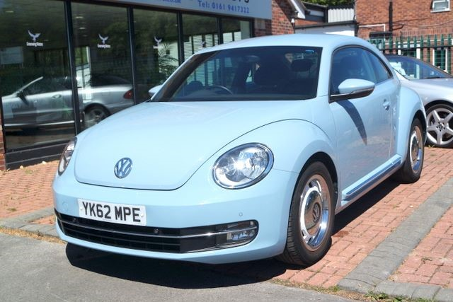 used VW Beetle DESIGN TSI DSG AUTO in ashley-cheshire