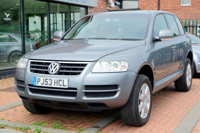 used VW Touareg TDI - LEATHER - in ashley-cheshire